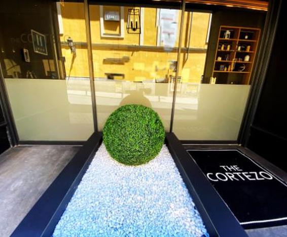 Entrada Hotel Cortezo