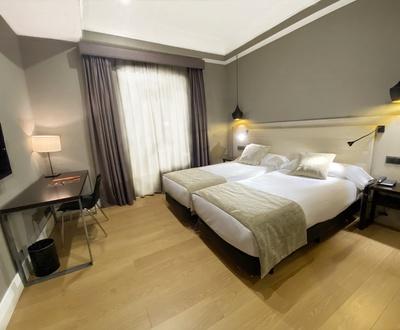 Habitación doble Hotel Cortezo