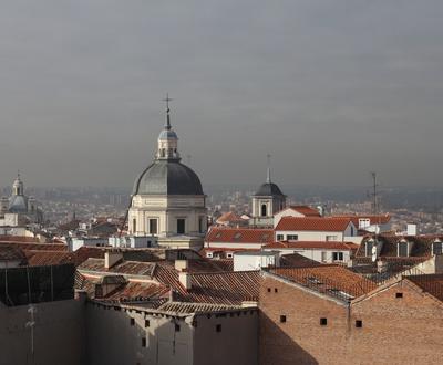 Vista terraza Hotel Cortezo