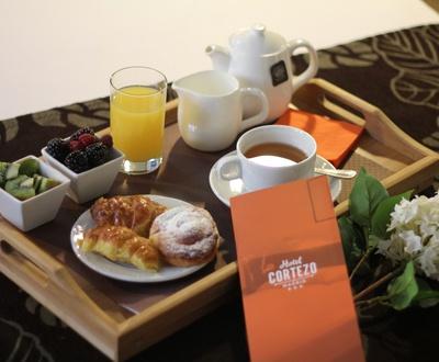 Desayuno Hotel Cortezo